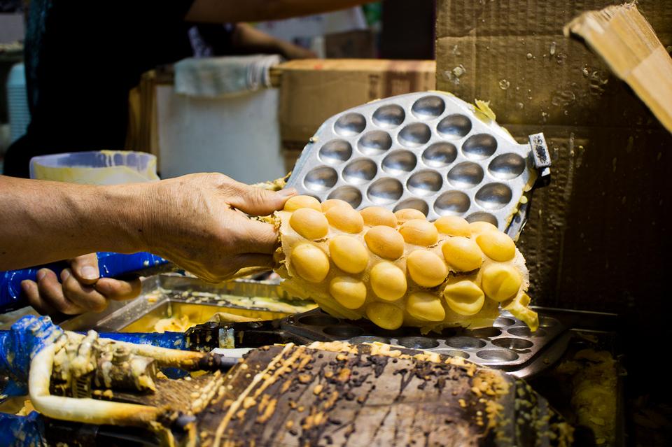 Eggs Waffle- hong kong - street food