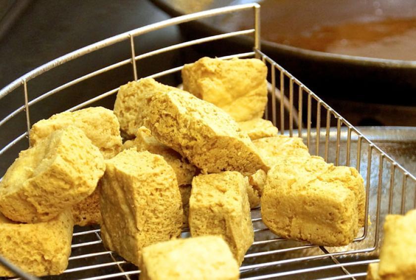 Stinky Tofu - hong kong