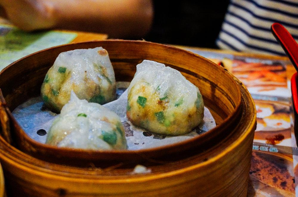 Chiu Chow-Style Steamed Dumplings (HK$14)