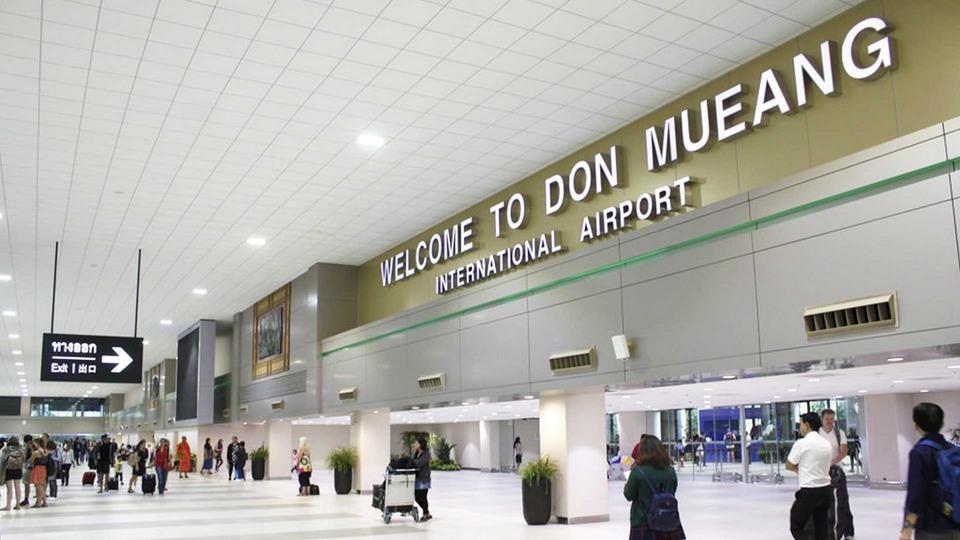 Don Muang airport-bangkok-thailand