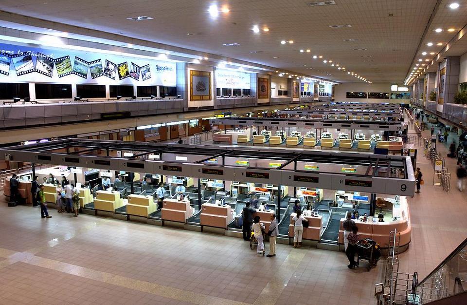 Don Muang airport-bangkok-thailand2