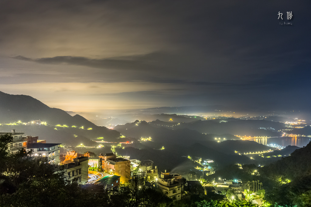 Nightscape of Jiufen