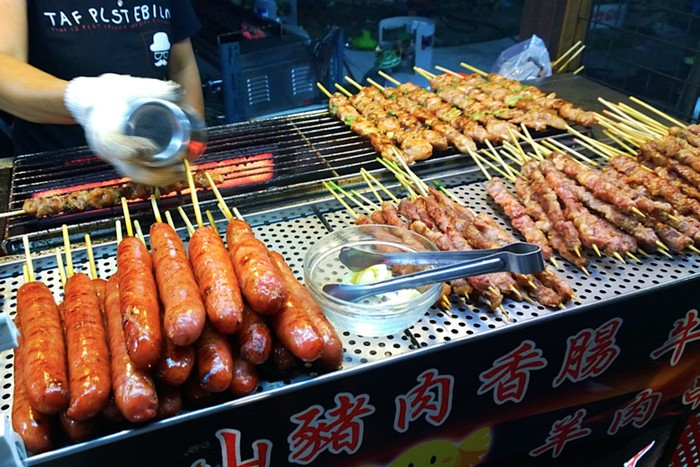 Street Food in kaohsiung Taiwan