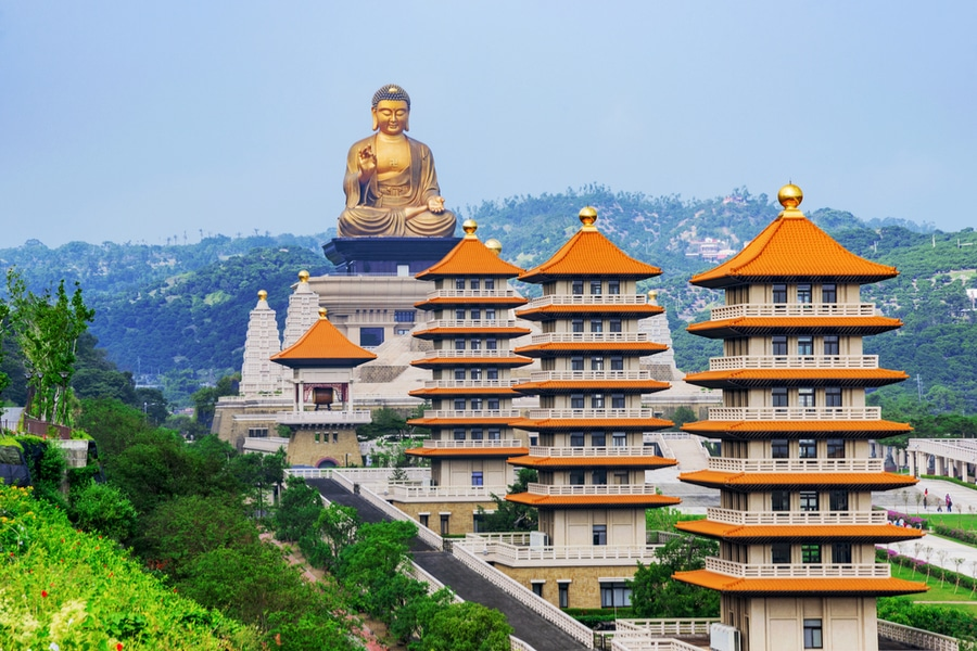 fo guang shan buddha museum, Kaohsiung, Taiwan