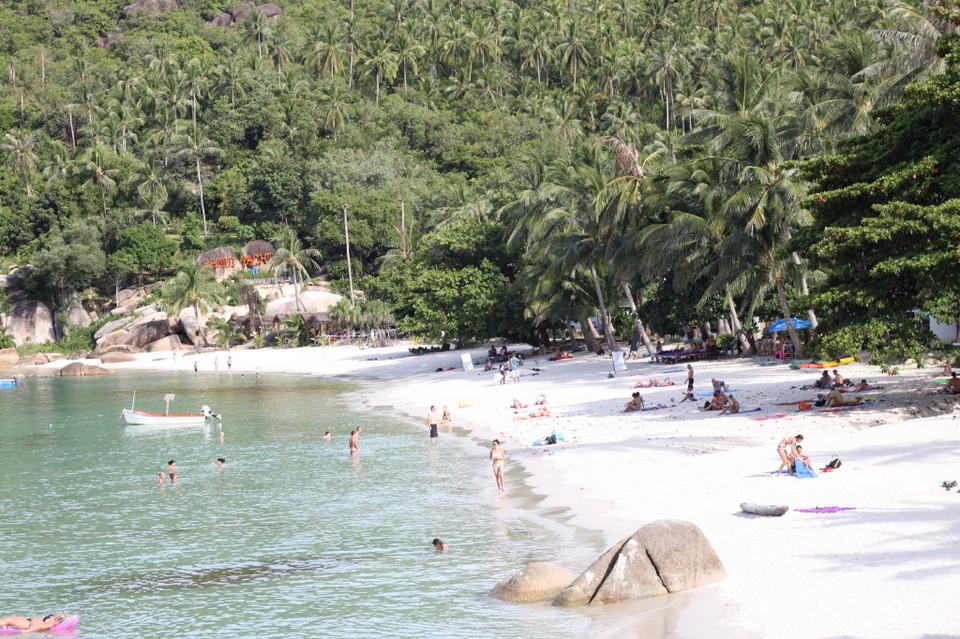 best beach in koh samui for swimming