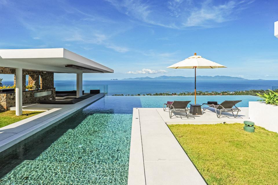 Villa Blue View, Bang Por, Koh Samui, Thailand