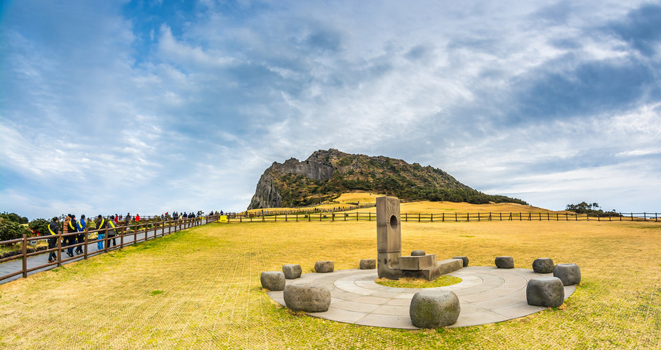 Sunrise Peak, Jeju - a UNESCO World Natural Heritage site
