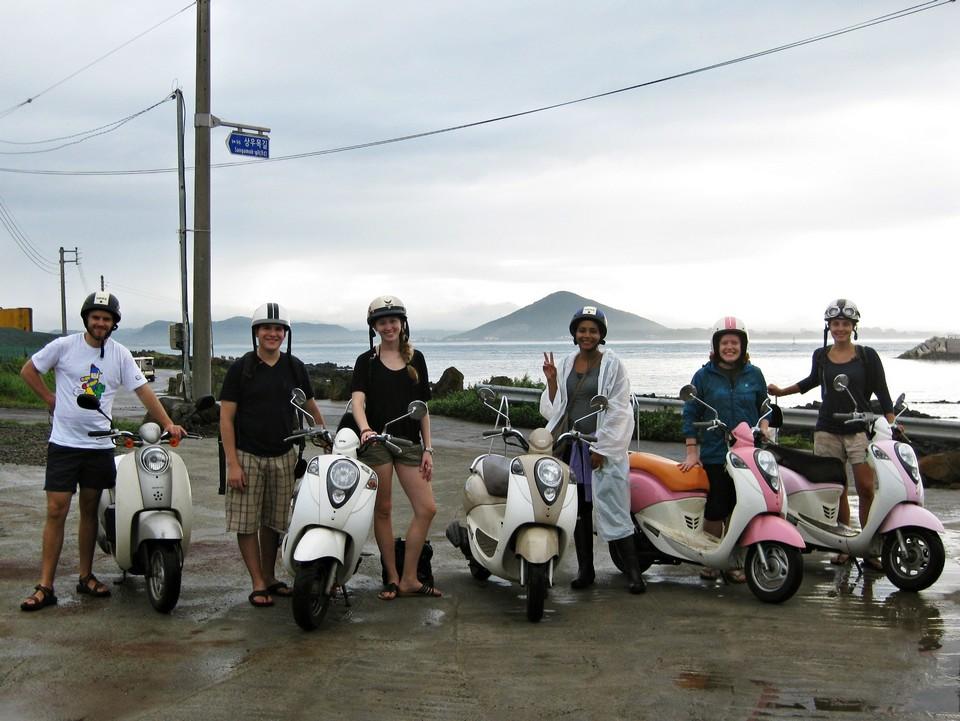 Explore Jeju on a scooter! Jeju travel blog Jeju blog