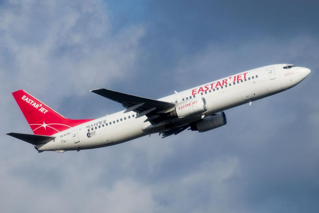 HL8048 Eastar Jet Boeing 737-808(WL)