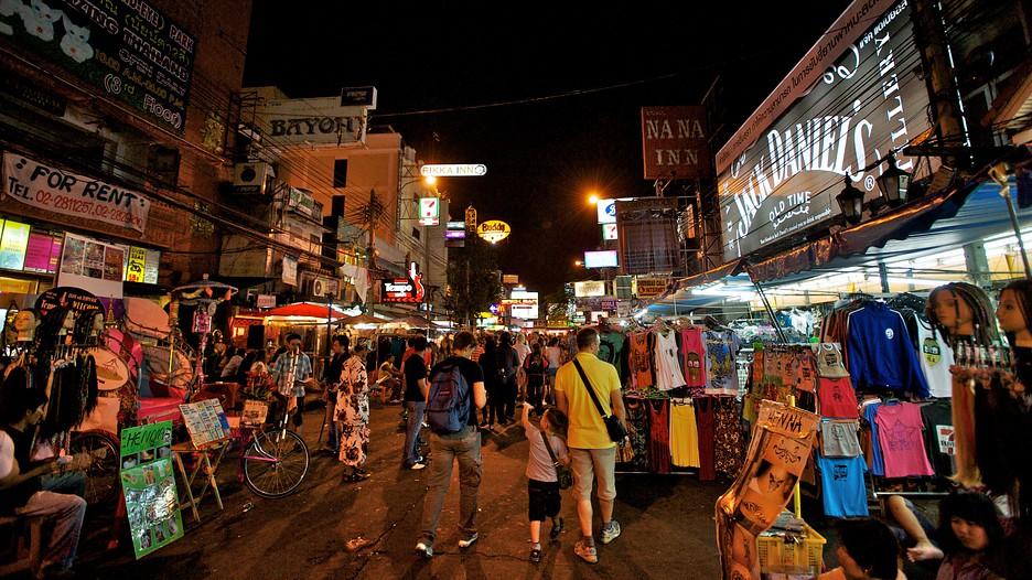 Khao San Road-bangkok-thailand1 Credit image: bangkok travel blog.