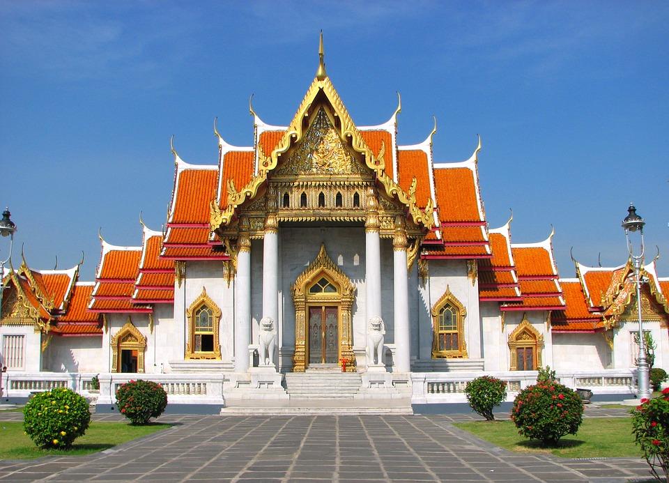 Wat Benchamabophit-bangkok-thailand