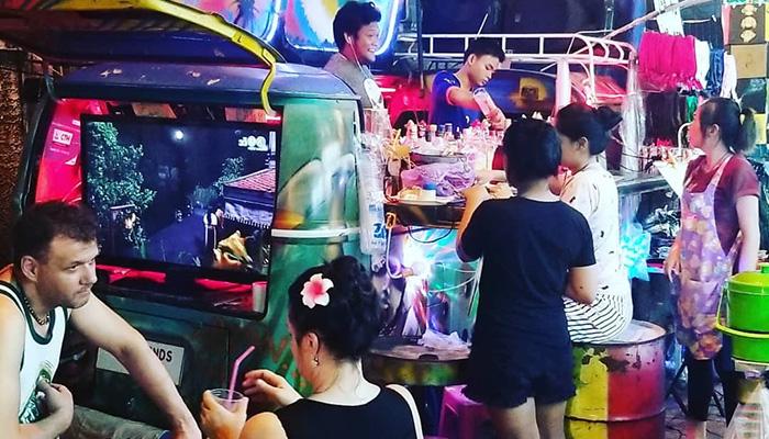 Khaosan - western street-bangkok-thailand