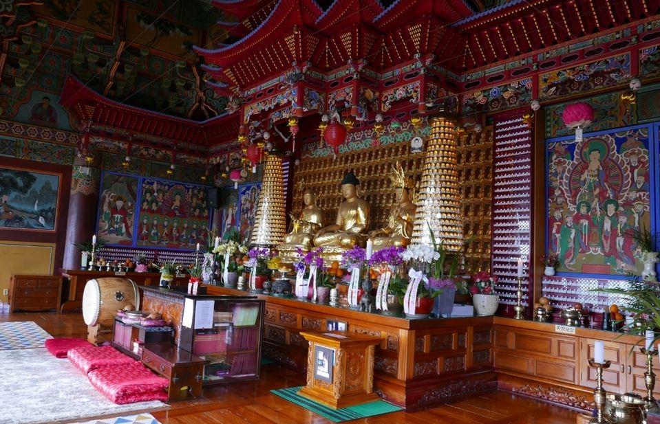 Relics of Buddha Mt Sanbangsan Temple