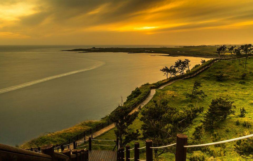 Songaksan mount sunset