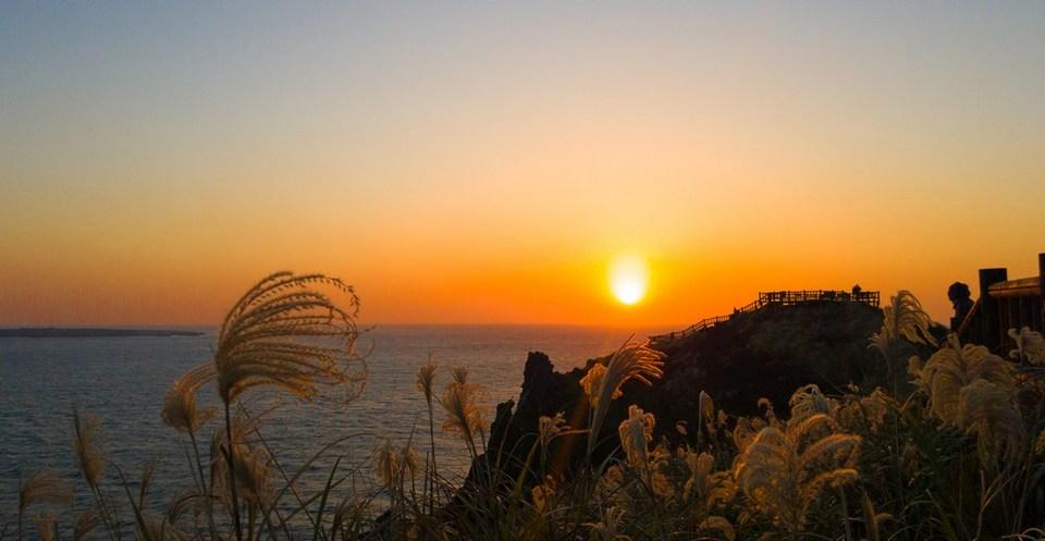 Songaksan mount sunset2