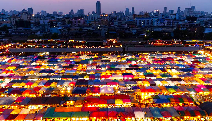 The Night Market is also an unforgettable destination for Bangkok