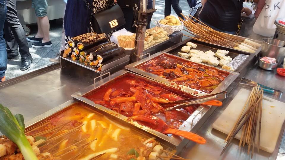BIFF Square food stalls