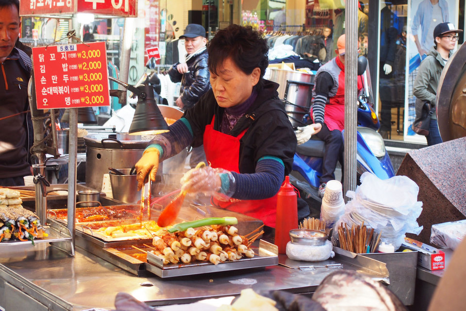 Nampo-Dong_street food