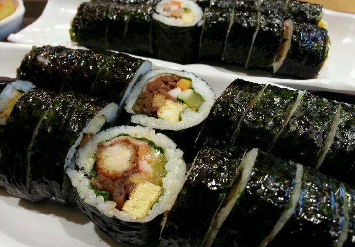 busan seaweed rice roll