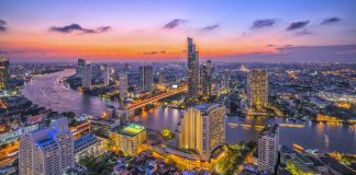 The Chao Phraya River
