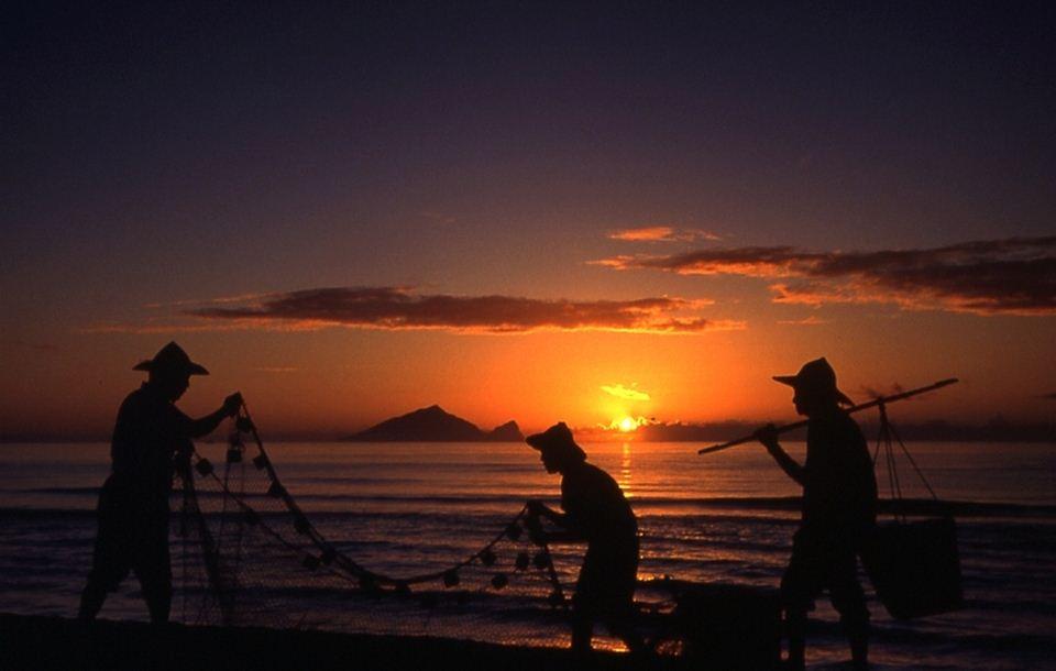 Guishan Island (Turtle Island) sunrise