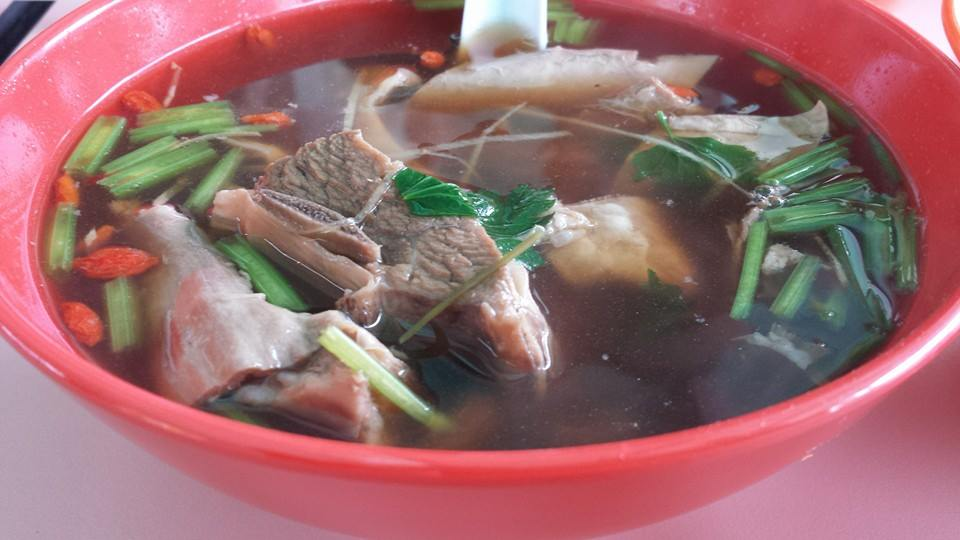 Mutton Herbal Soup