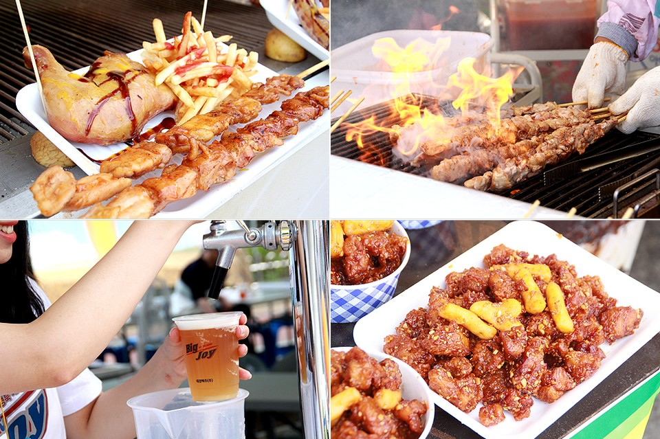 Chicken-Beer Festival (CHIMAC),must eat food in busan (1)