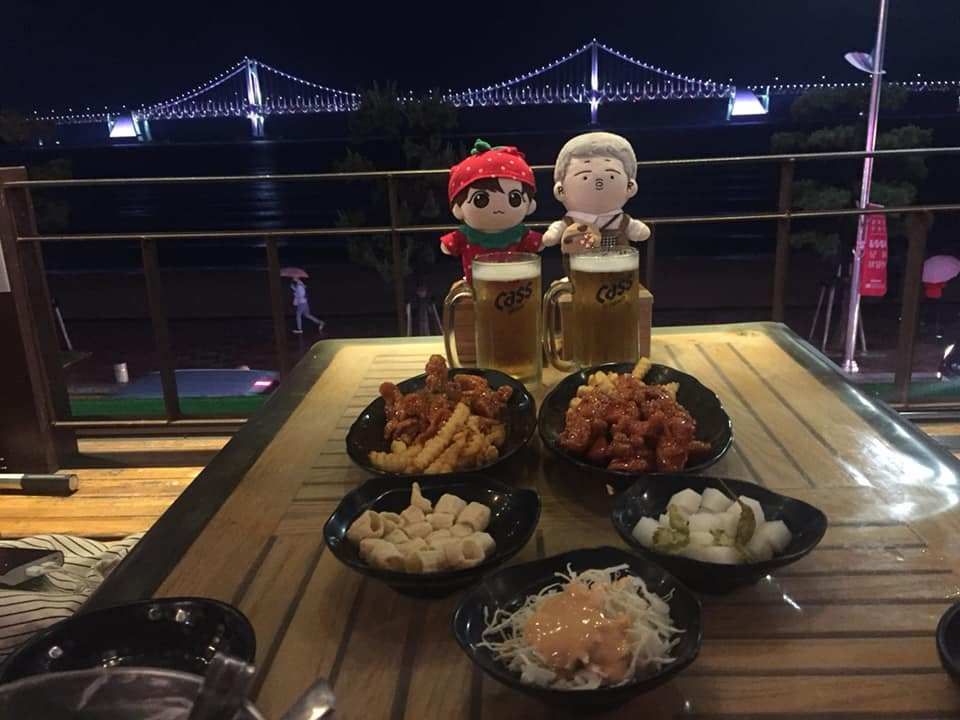 chicken beer busan