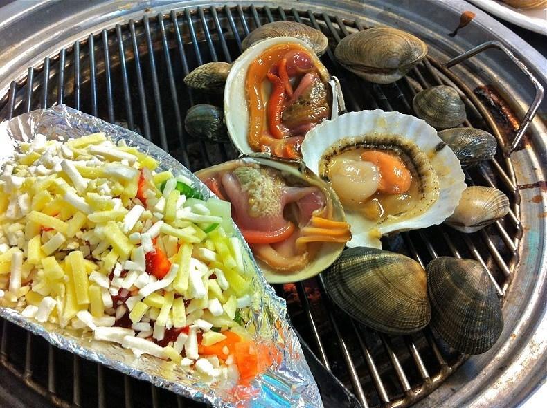 grilled seafood busan