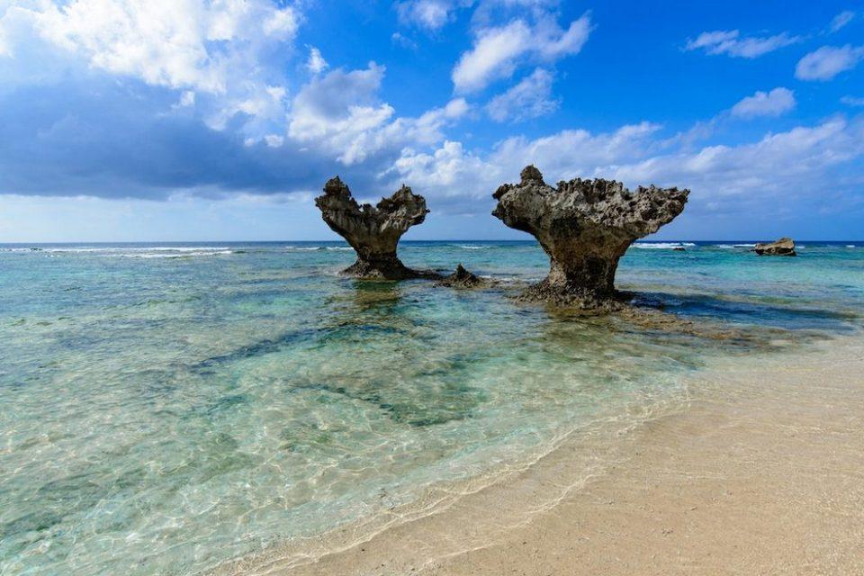 Heart Shaped Rocks at Kouri Island