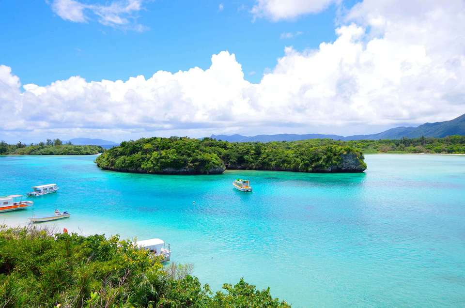 From Okinawa's main island, you can get to other islands by ferry or flight.