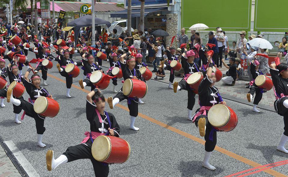 Eisa Dancers Parade