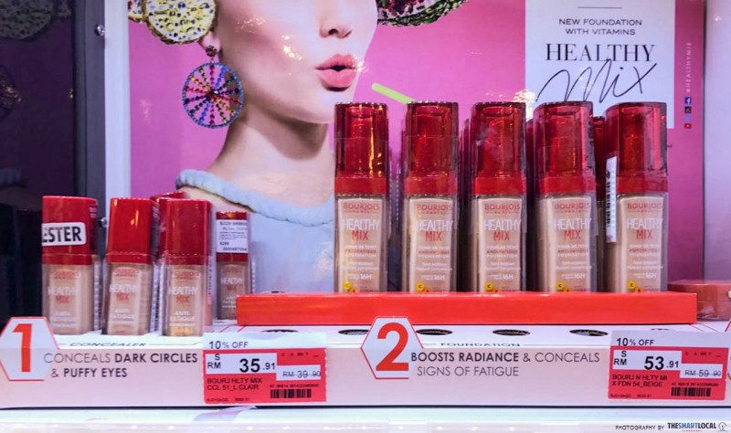 42% off Bourjois Healthy Mix Foundation