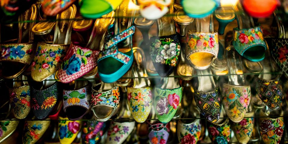 Peranakan hand-beaded slippers, the perfect souvenir for ladies ...