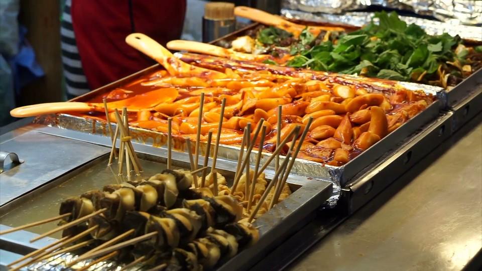 tteokbokki street food