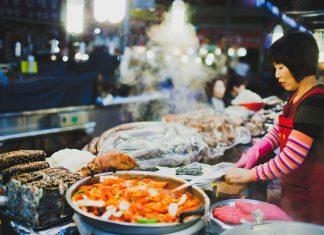 Street-Food-Stall in seoul