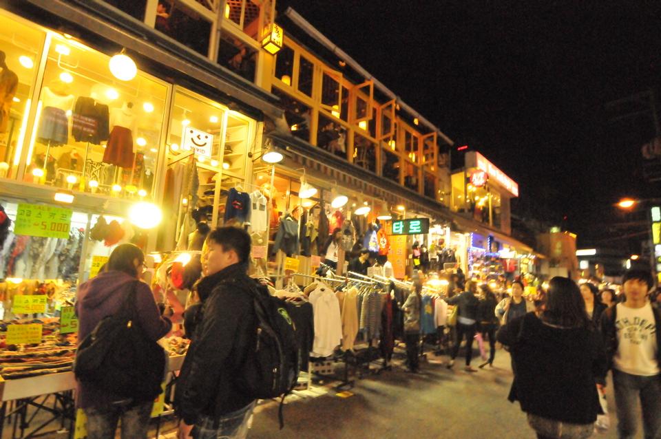 Hongdae market