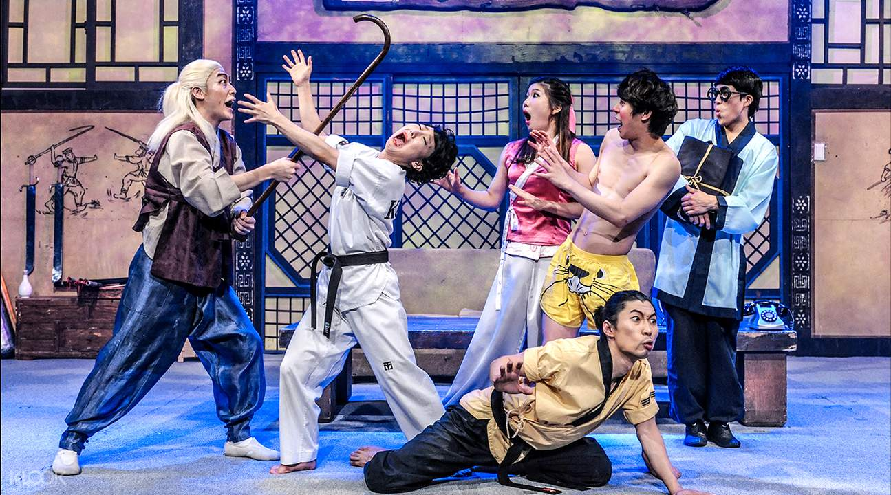 Enjoy the fun Asian martial arts from the unique Korean family at the JUMP Show