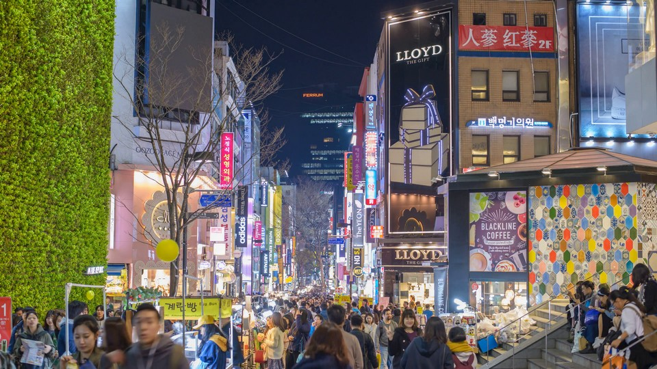 Myeongdong street