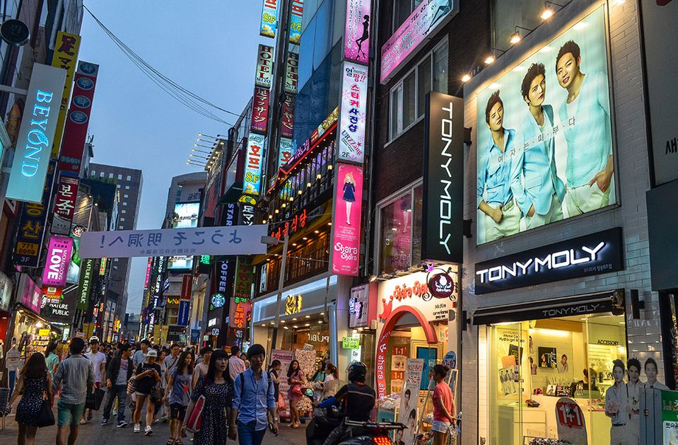 Korea - the paradise of shopping from clothing to the famous cosmetic brands