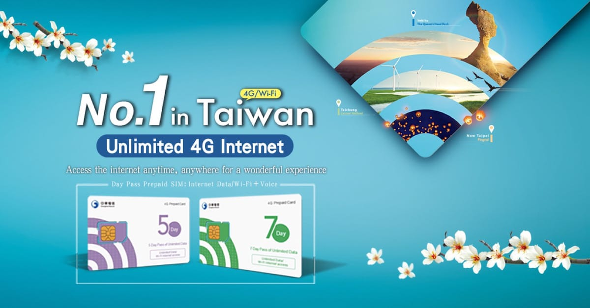 Prepaid SIM for Taiwan