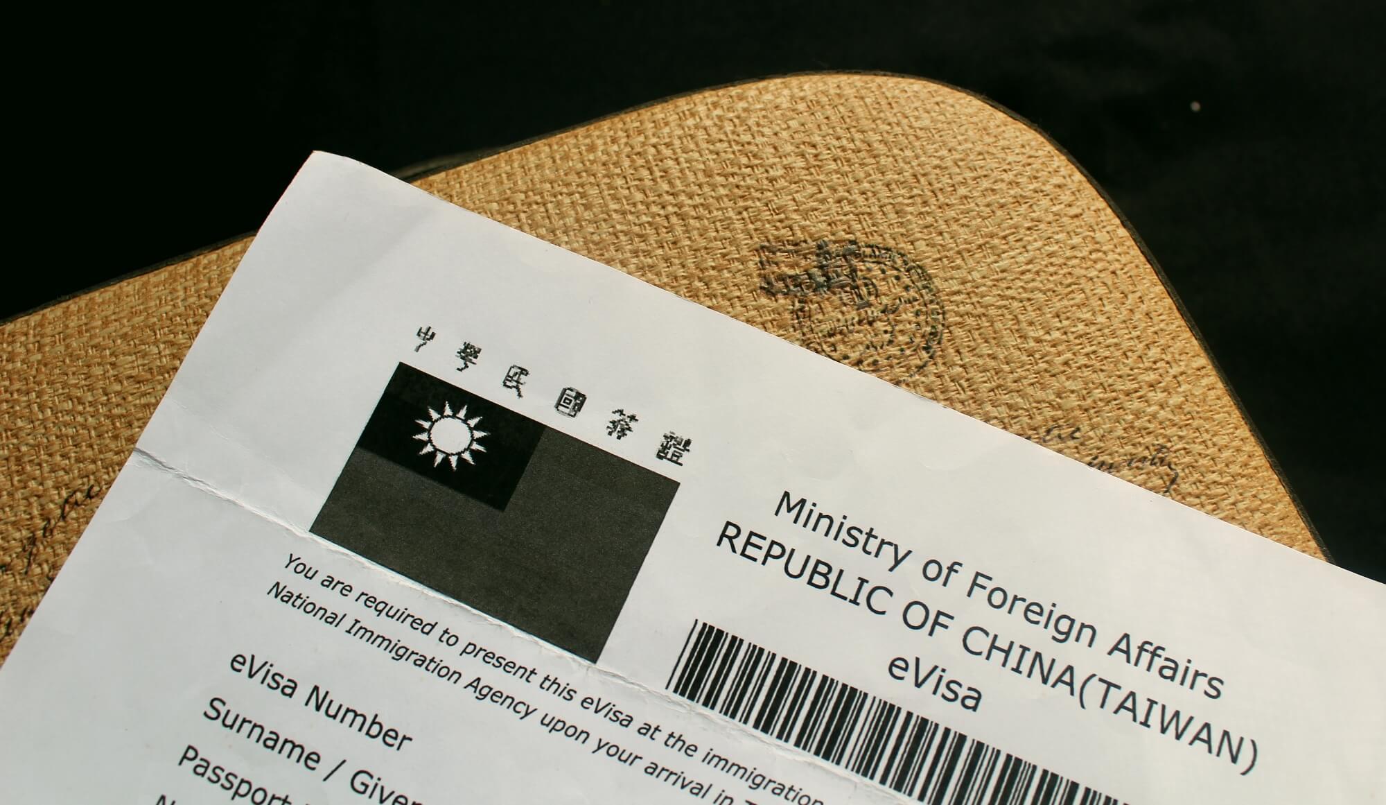 Taiwan-evisa