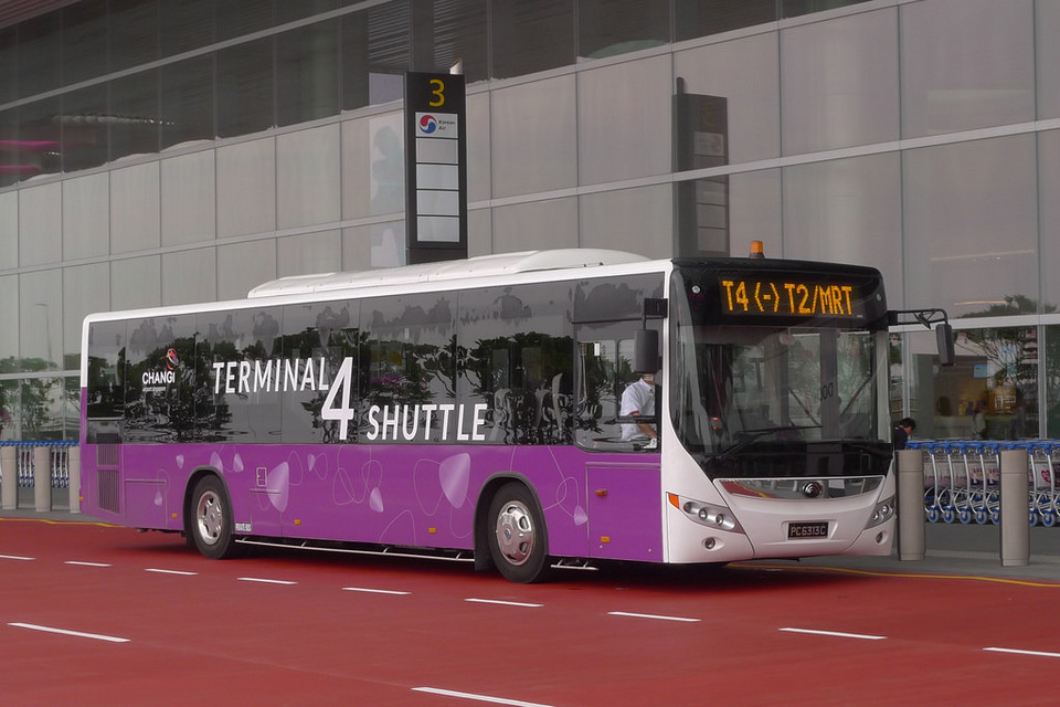 Credit image: singapore blog. Buses are also a cheap but good transport in Singapore