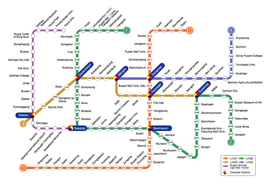 Busan Subway Map English Living Nomads Travel Tips Guides