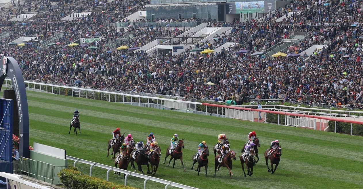 Racing is big business in Hong Kong with tens of thousands betting more than HK$1