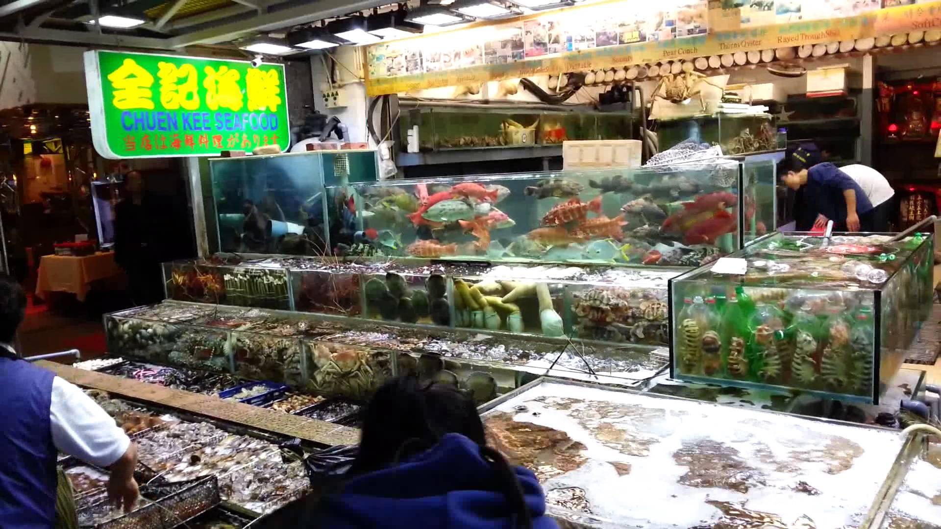 Sai Kung seafood