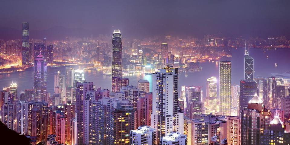 Hong Kong magical night