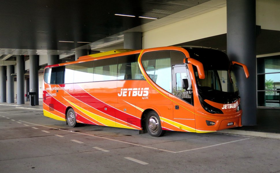 Jetbus at the klia2 Transportation Hub
