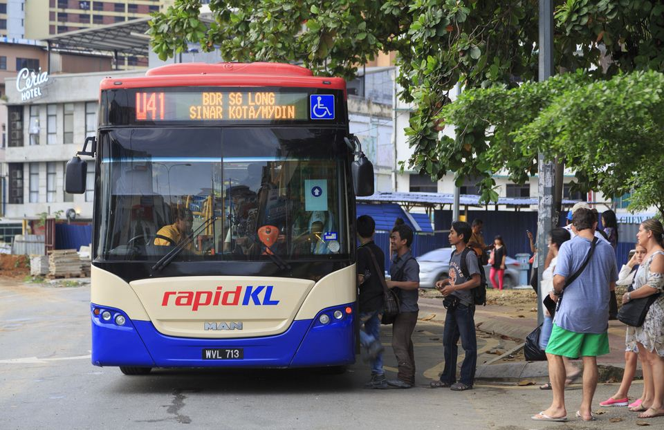 kl rapid bus