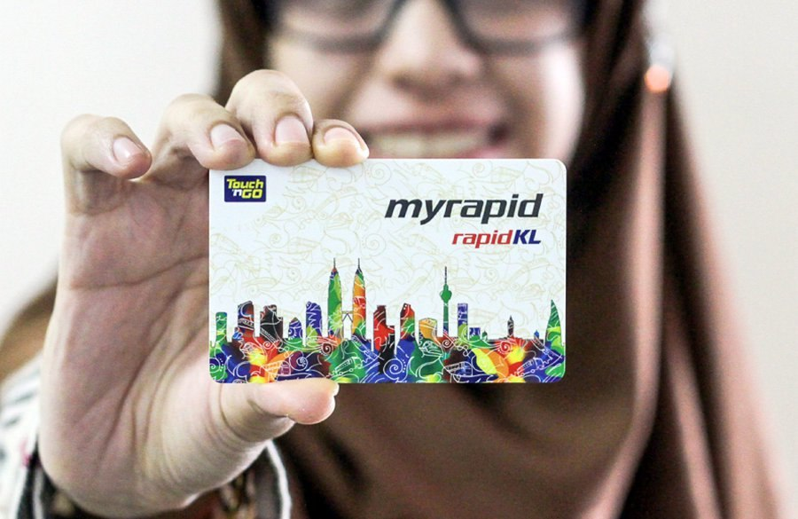 You should buy train rapid card to saving transport cost.